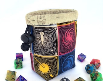 Small Dice Bag - Houses of Westeros - GoT theme