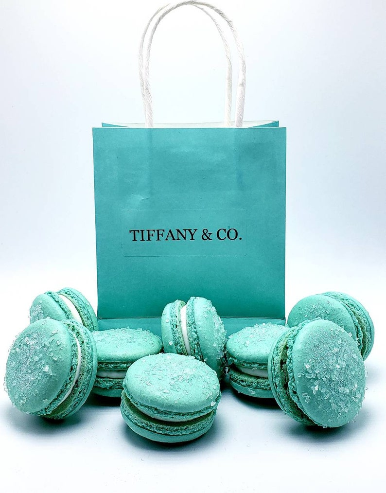 fe5f40ac Tiffany Theme Blue or ANY COLOR 29 Flavors Macarons Bridal | Etsy