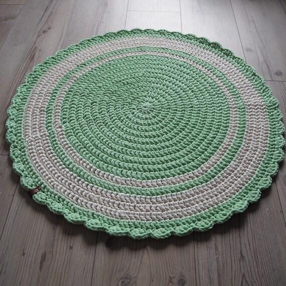 Runder Teppich Boden Teppich Runde Teppich Häkeln Teppich Etsy