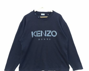 4ea2ca6174b0 Kenzo Homme / Kenzo Homme Sweatshirts in VINTAGE black colour and condition  / spellout / vintage / kenzo homme.