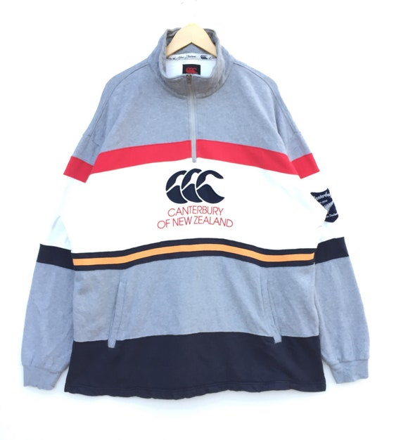 VINTAGE!! CANTERBURY Canterbury Of New Zealand Sweatshirts nice colour and nice design in great condition BigLogo Vintage Spellout