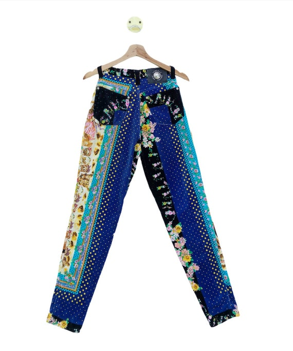 VINTAGE!!! 90s Versace Jeans Couture Italy Kitten… - image 2