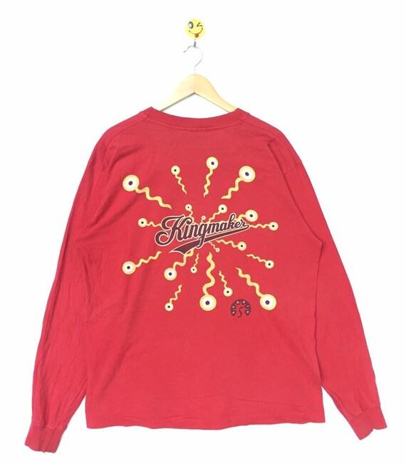 VINTAGE!! Kingmaker Britpop Band Long Sleeve Tshir