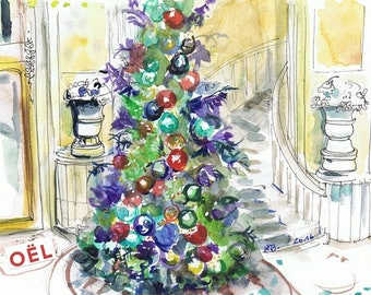"Paris Postcard ""Christmas in Spring"""