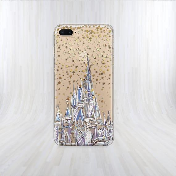 newest b5564 0b5a1 Castle disney case Samsung S8 Plus case iPhone 8 case iPhone 5 case Samsung  S7 Edge case Castle case crystal iphone case phone case iPhone