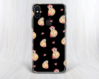 BB8 case iPhone 6 case iPhone 7 case star wars case bb8 Droid case Samsung S7 case iPhone 7 Plus case iPhone 8 Plus case iPhone 5 case phone