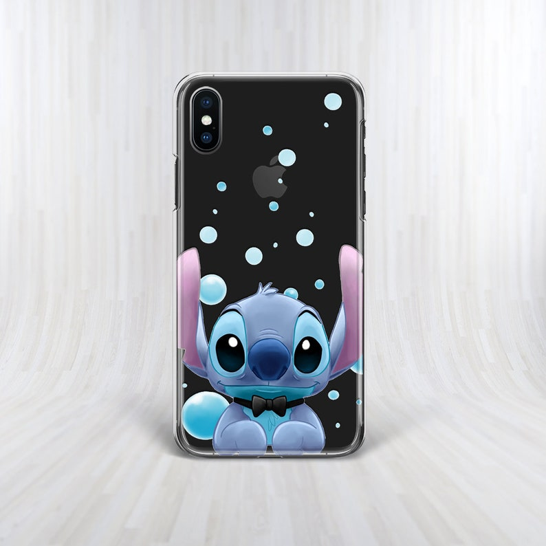 new product 152fe b5bf4 Stitch Phone case Lilo and Stitch iPhone XS case Inspired by Disney iPhone  XS Max case Galaxy A6 case Samsung Note 9 case Pixel 3 Soft case