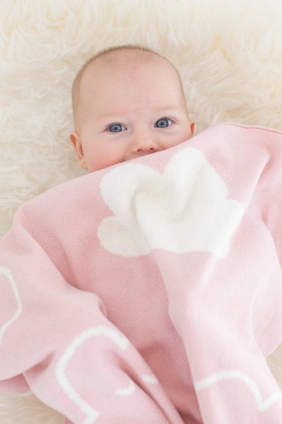 Baby Shower Gift Monogrammed Baby Blanket Newborn Keepsake Newborn Blanket Birth Announcement Baby Blanket Baby Quilt Newborn