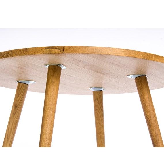 Fine Oak Round Coffee Table Mid Century Modern Furniture Small End Tables Machost Co Dining Chair Design Ideas Machostcouk
