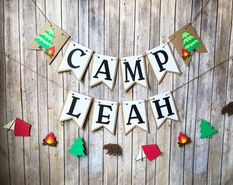 Camping decorations  Etsy
