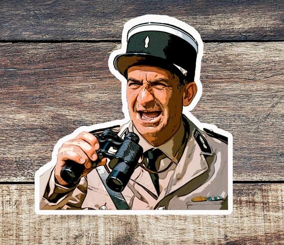 Louis De Funes Fridge Magnet Le Gendarme De Saint Tropez Ludovic Cruchot French Film Magnet Movie Character