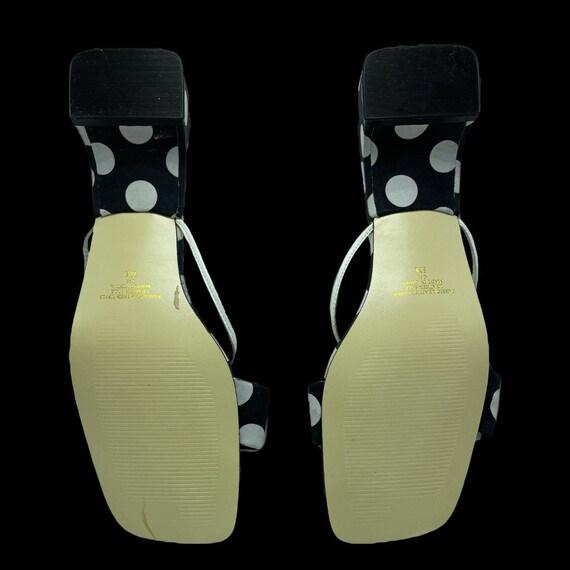 Polka Dot Mod Style Sandal - image 4