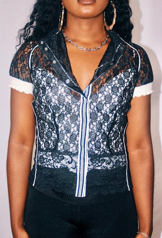Designer Lace Blouse