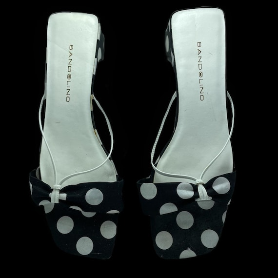 Polka Dot Mod Style Sandal - image 1