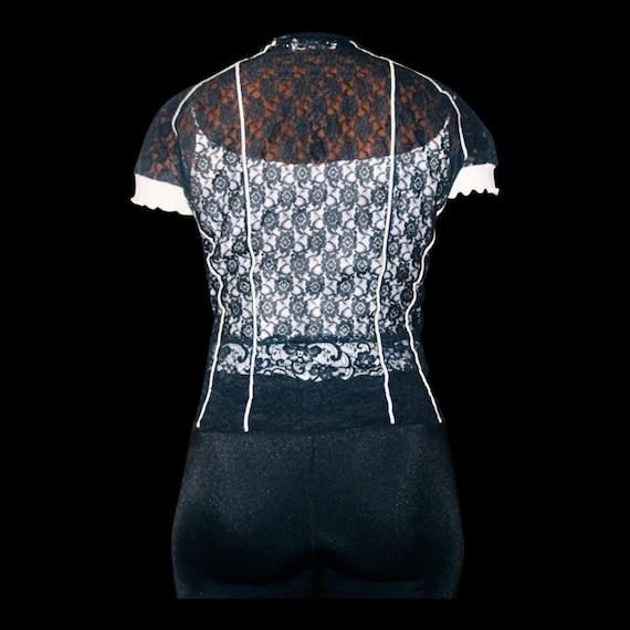 Designer Lace Blouse - image 2