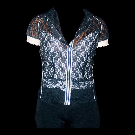 Designer Lace Blouse - image 1