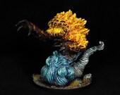 DnD Miniature, Fire Eleme...