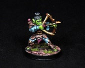 Goblin Miniature, DnD Miniature, DnD Goblin, Goblin Archer, Trasgo Arquero, Goblin Ranger, Goblin Rogue,Dungeons and Dragons Pathfinder, RPG
