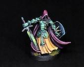 Sir Conlan Miniature, Painted Reaper Miniature,Human Warrior,Human Ranger,Fighter Miniature,D&D miniature,DnD Miniature,Dungeons and Dragons