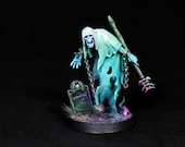 Painted Nighthaunt,Painted DnD miniature, Ghost Miniature,Wraith miniature,Warhammer Chainrasps Spirit,Spectre,DnD,Undead Spirit,D&D,RPG,RIP