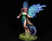 Sylph Miniature, DnD Miniature, DnD Fey, Aasimar Sorceress, Fairy Miniature, Pixie Fey,Fey Miniature, Reaper Sylph,Dungeons and Dragons, RPG