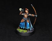 Elf Archer, Archer Miniature, Elf Miniature, Archer Warrior, Elf Ranger, Ranger Miniature,D&D miniature,Fighter Miniature,RPG,DnD,Pathfinder