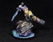 Wraith Miniature, Painted Wraith, Assassin Miniature, Reaper Wraith, Reaper Miniature, Rogue Miniature, Undead Miniature, Hood,Ghost, Winter