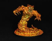 Fire Elemental, DnD miniature, Elemental miniature, Blaze Elemental,Burn Spirit,Lava Elemental,Fantasy RPG,DnD Pathfinder Role Playing Games