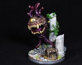DnD miniature, Reaper Miniature, Eye beast, Beholder miniature, Mimic Figurine, Monster Miniature, RPG, DnD, Pathfinder miniature