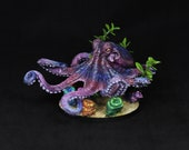 DnD Miniature, DnD Octopus, Giant Octopus, Large Octopus, Deep Creature, Aquatic kraken, Sea Animal, RPG, dnd squid, Dungeons&Dragons,