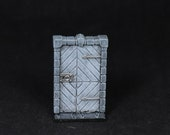 Dungeon Door, Gate miniature, Furniture Miniature, Door miniature, Dungeon Gate,DnD miniature,Stone Gate,RPG,DnD Pathfinder,Dungeons Dragons