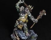DnD miniature, Ettin Miniature, DnD Ettin, pro painted mini, Nor'Okk Ettin, Giant Barbarian,Giant Miniature,Dungeons&Dragons mini,Pathfinder