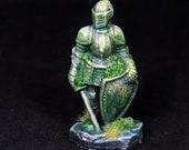 DnD Statue, DnD miniature, Stone Statue, Stone Warrior, Warrior Miniature,Fantasy mini, RPG, DnD, Pathfinder, Furniture, Statue Figure,
