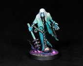Ghost Miniature,Warhammer Chainrasps Miniature,Painted Nighthaunt Miniature, DnD miniature, Wraith, Spirit,Spectre,Undead Spirit,D&D,RPG,RIP
