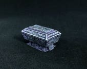 Hand Full Painted Dwarf Marble Tomb Miniature, 20x30 mm base, Fantasy RPG DnD Pathfinder Role Playing Tabletop Games