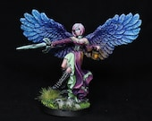 DnD miniature, Female Ang...