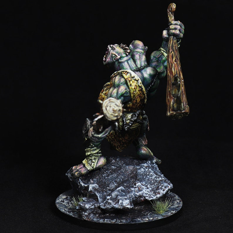 DnD miniature DnD Ettin Nor/'Okk Ettin Ettin Miniature pro painted mini Giant Barbarian,Giant Miniature,Dungeons/&Dragons mini,Pathfinder