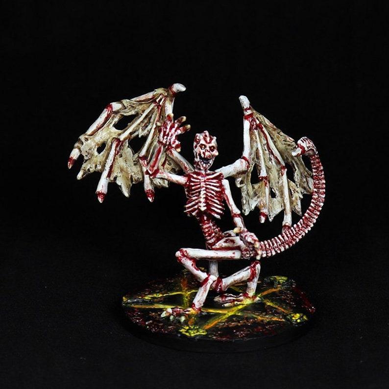 c284cfcd5ca DnD Miniature Bone Devil Reaper Devil Bone Miniature