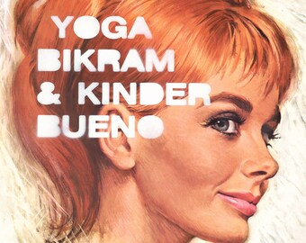 Poster YOGA BIKRAM AND...