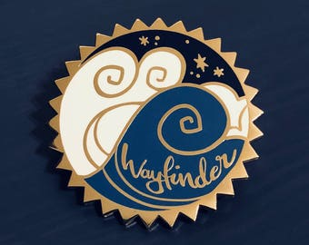 Moana Wayfinder Enamel Pin   SECONDS