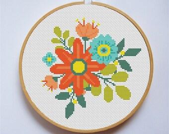 Easy cross stitch   Etsy
