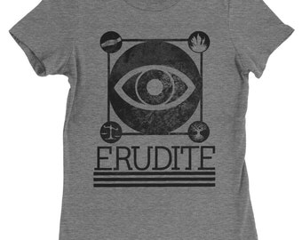 Erudite Divergent T Shirt