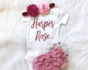 baby girl personalized gift etsy