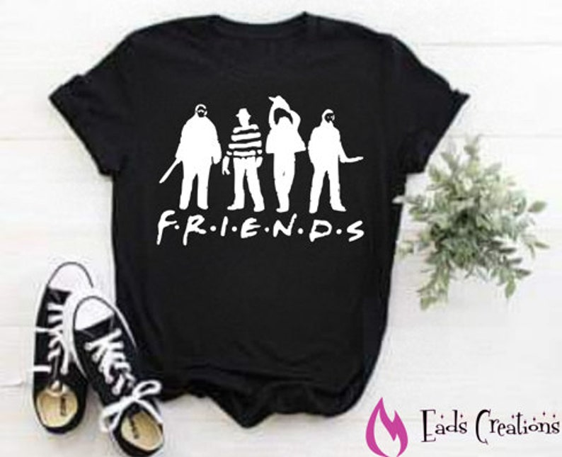 Halloween Friends Shirt.Halloween Friends Shirt Horror Movie Shirt Michael Myers Shirt
