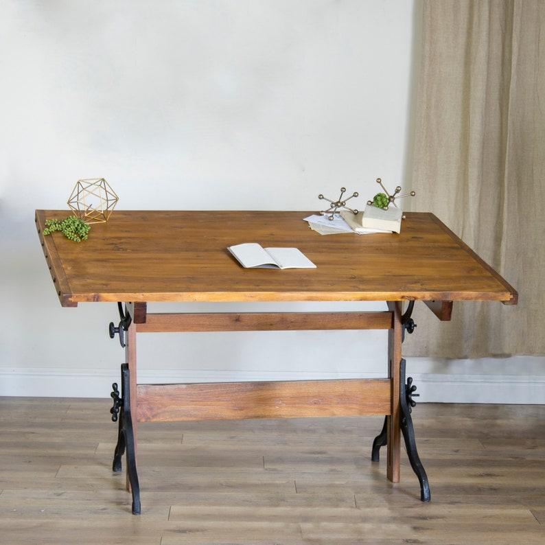 Metalwood Drafting Table