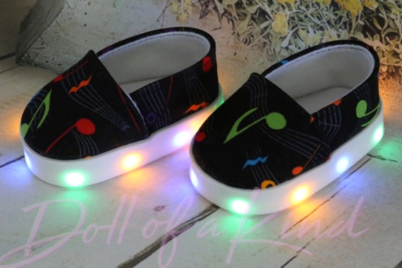Light Shoes  for 18/'/'dolls American Girl Tornasole doll clothes doll shoes