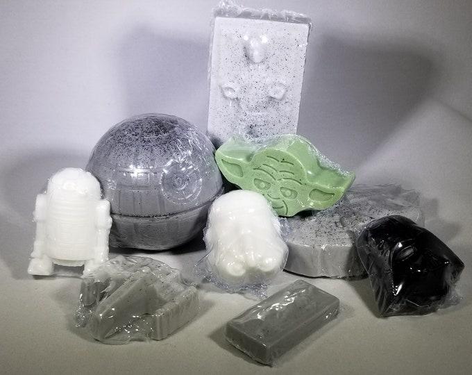 Featured listing image: Nine piece Star like  Wars soap set