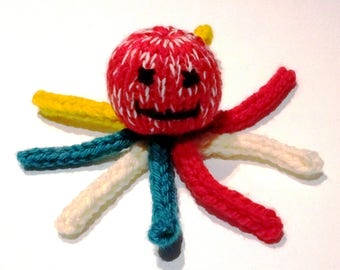 Loom Knitted Octopus