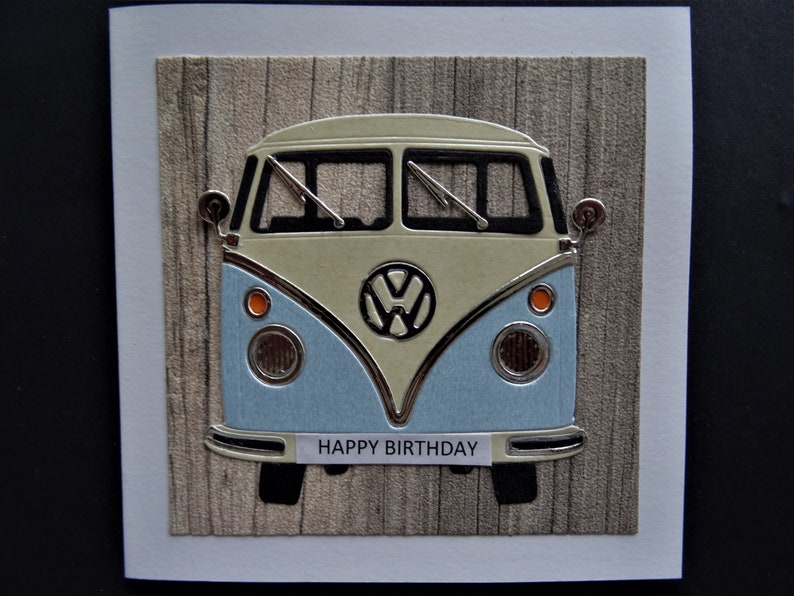 bedf2f1a6e Handmade Card for any Occasion Can be personalised Camper