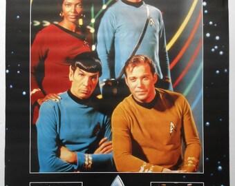 STAR TREK Original Series Official Set of Two 39 X 27 Vintage Colour POSTERS